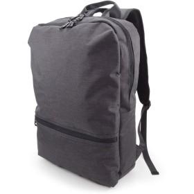 (Marib select) スクエア リュックサック バックパック リュック 撥水機能 ビジネスリュック PC対応 キャリーオン 多機能 バッグ 通勤 鞄 メンズ #c361 (ダークグレー)