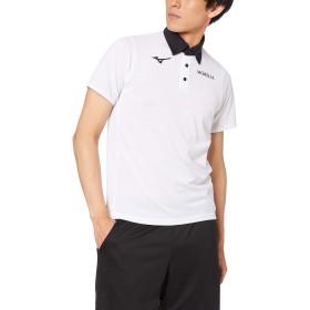 [Mizuno] サッカーウェア ポロシャツ 半袖 P2MA9005 ホワイト 日本 XL (日本サイズXL相当)