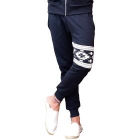 ルービック(RUBIK) メンズ ジョガーパンツ スキニーパンツ スキニー ラインパンツ トラックパンツ