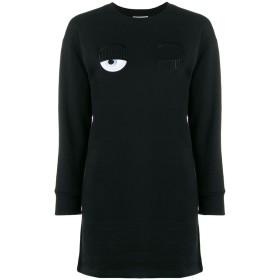 Chiara Ferragni シフトドレス - ブラック