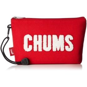 [チャムス] CHUMS Little Pouch Sweat Scarlet