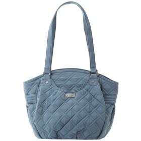 ヴェラブラッドリー グレンナ ショルダーバッグ Glenna Shoulder Bag トート バッグ マイクロファイバー (カラー:Charcoal) VERA BRADLEY [並行輸入品]