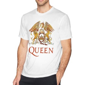 ベーシックTシャツ メンズ 半袖 コットン Queen シンプル カジュアル ショートスリーブカ クルーネック 快適 吸汗速乾 夏