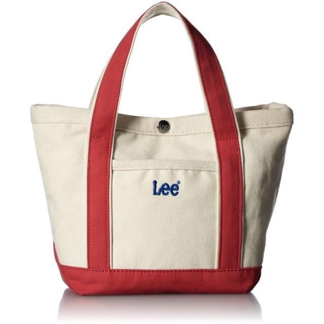 Lee リー キャンバス スナップボタントートバッグ