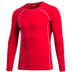 Zhhlinyuan ファッション Mens Sports Quick-Dry Long Sleeve Performance T-Shirt 1039#