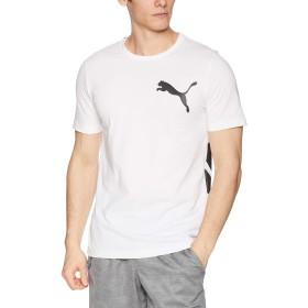 [プーマ] トレーニングウェア ビッグロゴ 半袖Tシャツ [メンズ] 855072 プーマ ホワイト (02) 日本 M (日本サイズM相当)