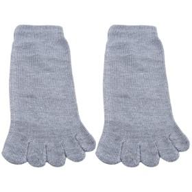 MARUIKAO 5本指ソックス メンズ 五本指靴下 ビジネス ポリエステルコットン 四季適用 通気性抜群