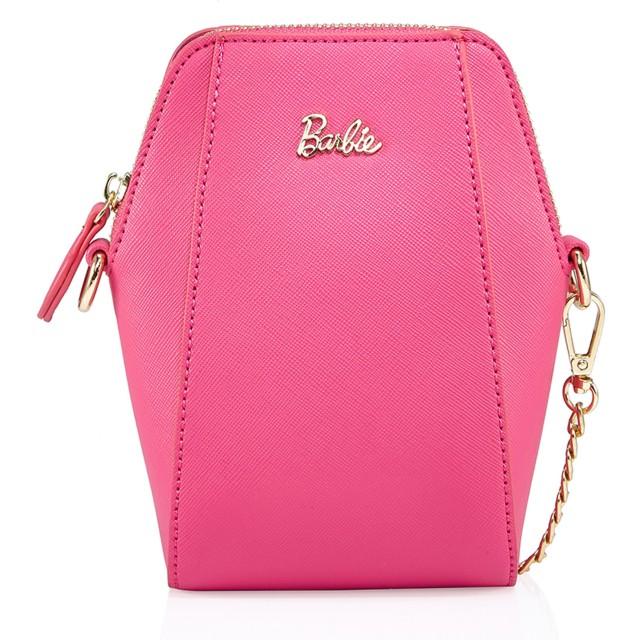 Barbie バービー ファッションシリーズ 高級PUレザー 斜め掛けバック ショルダーバッグ レディースバッグ