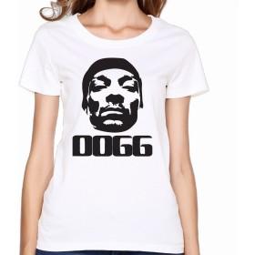 YOKOあさの 女性 カスタマイズ スヌープ ドッグ シャツ 体に合う White Size XXL