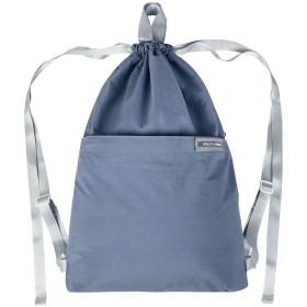 Micv ナップサック スポーツバッグ ジムサック 折りたたみ 防水仕様 巾着袋 軽量 通学・運動・旅行に最適 アウトドア 収納バッグ 男女兼用 (グレー)