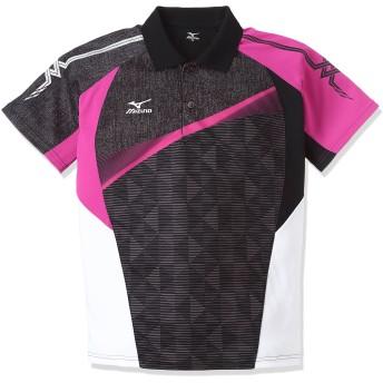 (ミズノ)MIZUNO テニスウェア ゲームシャツ [UNISEX] 62JA6011 09 ブラック XS