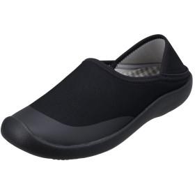 [パンジー] 7706 poem ポエム 靴 シューズ ゆったり 介護 高齢 ケアシューズ M ブラック