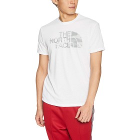 [ザ・ノース・フェイス] Tシャツ カモフラージュロゴティー メンズ ホワイト 日本 S (日本サイズS相当)