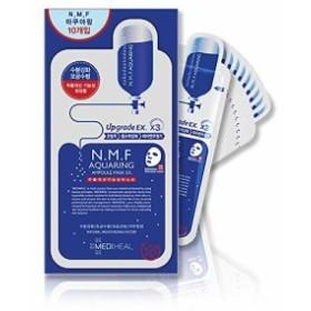 Mediheal メディヒール N.M.F アクアリング アンプル・マスクパック 10枚入り (Aquaring Ampoule Essential