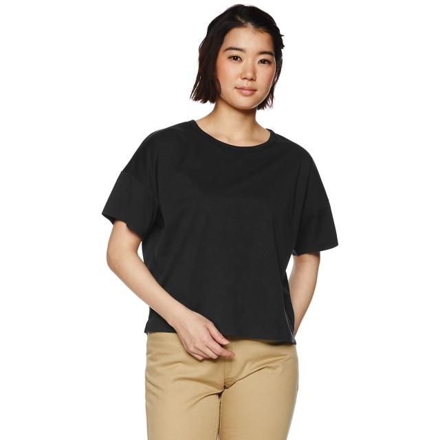 [ザ・ノース・フェイス] Tシャツ テックラウンジショートスリーブティー レディース ブラック 日本 M (日本サイズM相当)
