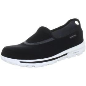 [スケッチャーズ] SKECHERS GO Walk 13510 BKW (Black Textile/ White Trim/23.5)