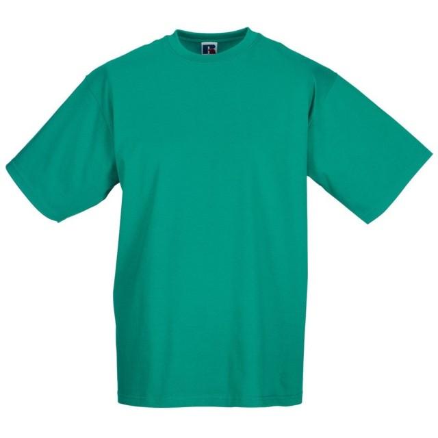 (ラッセル) Russell メンズ クラシック 半袖Tシャツ トップス カットソー 定番 男性用 (2XL) (ウインターエメラルド)