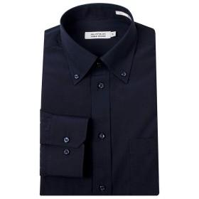 (ビジネススタイル アルフ) businessstyle alfu 紺ワイシャツ 黒ワイシャツ 長袖ワイシャツ メンズ ワイシャツ Yシャツ ドレスシャツ ワイシャツ 無地 カッターシャツ 制服/al9-7-9-1-5L-49-88-navy-bd