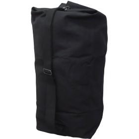 オリジナル コットンダッフルバッグ Lサイズ 2色 黒ワンサイズ