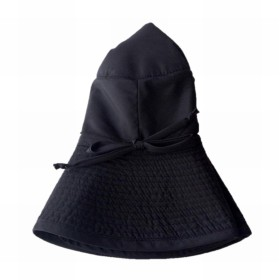 GREVI ウォータープルーフ ハット レディース グレヴィ 帽子 秋 冬 ブラック イタリア製 ハンドメイド (ブラック)