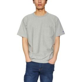 [チャンピオン] リバースウィーブ ポケットTシャツ C3-P318 メンズ オックスフォードグレー 日本 S (日本サイズS相当)