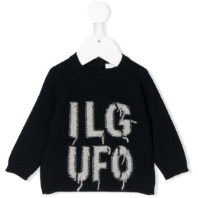 Il Gufo ロゴ セーター - ブルー