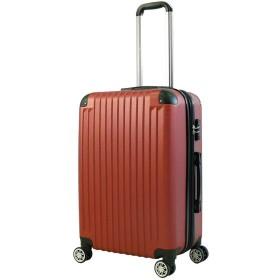 SD STORE スーツケースキャリーバッグ容量拡張機能付き4輪ダブルキャスターTsaのロック搭載超軽量エンボス加工傷が目立ちにくい最高70L大容量(M1010Rd)
