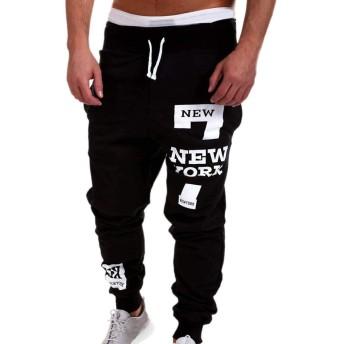 ロングパンツ 男性、三番目の店 メンズ ファッション ズボン パンツ カジュアルパンツ スウェットパンツ スポーツパンツ