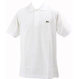 [ラコステ] ポロシャツ L1212A メンズ ホワイト EU 006-(日本サイズ2L相当)