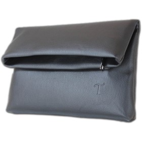 《T-Bag》 クラッチバック コンパクトサイズ レザー仕様 ブラック