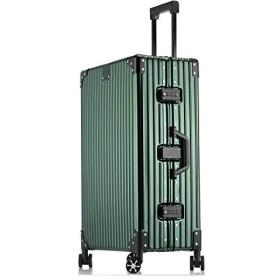 1年保証 スーツケース アルミ・マグネシウム合金ボディ 軽量 キャリーケース 丈夫 キャリーバッグ TSAロック付 大容量 静音 ビジネス 旅行出張