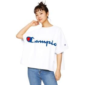 [チャンピオン] ショートスリーブビッグTシャツ CW-P307 レディース ホワイト 日本 M (日本サイズM相当)