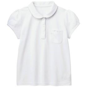 [ベルメゾン] ポロシャツ 半袖 吸水 速乾 通園 通学 標準服 制服 ガールズ ゆったりサイズ オフホワイト サイズ:150