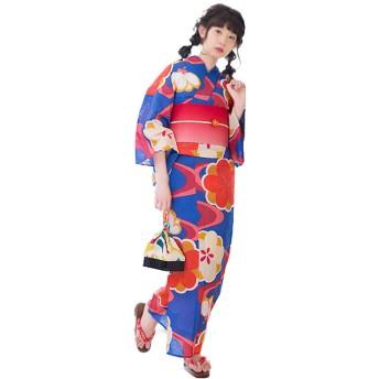 KIMONOMACHI 浴衣 帯 2点セット 流水 梅