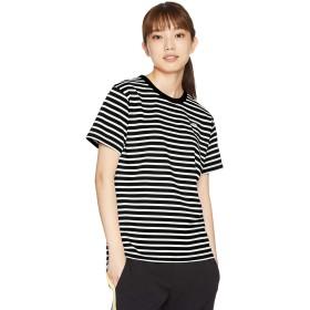 [ザ・ノース・フェイス] Tシャツ ショートスリーブフルボーダーティー レディース ブラック 日本 M (日本サイズM相当)