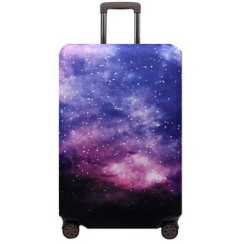 Suitcase Cover Elastic Fabric Luggage Protective Cover Trolley Case Suitcase Dust Cover Travel Accessories Size L Style 1