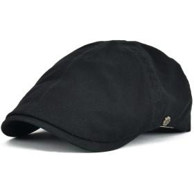 ハンチング 帽子 コットン ゴルフ アウトドア メンズ レディース ユニセックス カジュアル ハンチング帽子 BDBL063 (ブラック)