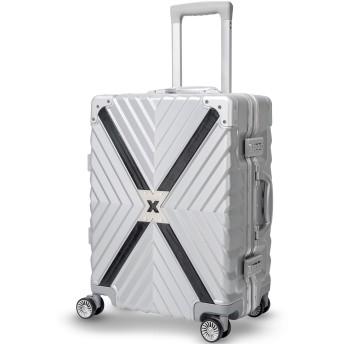 TABITORA(タビトラ) スーツケース キャリーケース アルミフレーム TSAロック 8輪 ダブルキャスター 静音 大容量 レトロ 超軽量 ビジネス出張 旅行