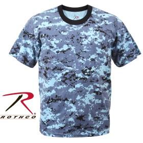ロスコ Tシャツ スカイブルーデジタルカモ Rothco T-Shirts Sky Blue Digital Camo 8947 (S)
