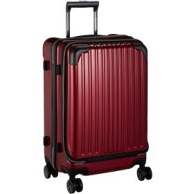 [ワイズリー] スーツケース 超軽量双輪スーツケース フロントオープン 22インチ コーナーパッド付き TSAロック 49L 55 cm 4.3kg 338-2302 レッド
