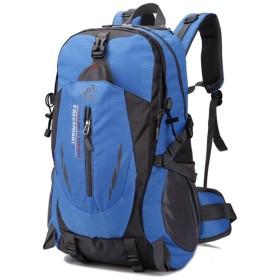 登山リュック40L 防撥水 ハイキング クライミング バックパック 避難 キャンプ  リュックサック アウトドアザック 旅行 登山 旅行 通勤 通学