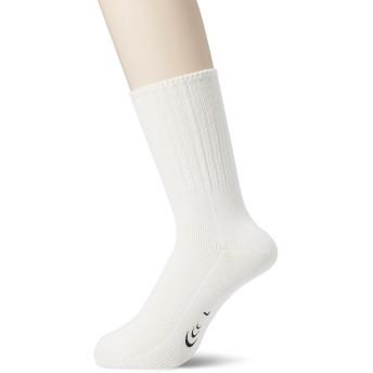 [シースリーフィット] 靴下 マグフローコンフォートソックス ユニセックス ホワイト 日本 S (日本サイズS相当)