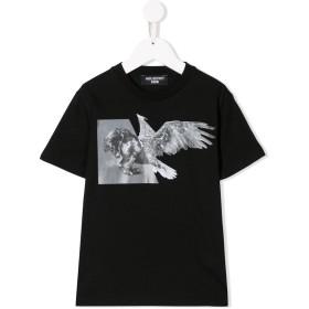 Neil Barrett Kids ホース プリント Tシャツ - ブラック