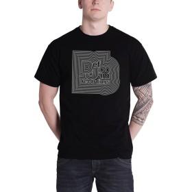 Def Jam Recordings Logo デフ・ジャム・レコーディングス 公式 メンズ ブラック 黒 Tシャツ Size XL
