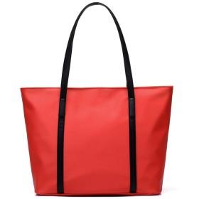 ENVOY(エンヴォイ) ビジネスバッグ 人気 トートバッグ レディース A4 大容量 PUレザー ハンドバッグ 防水 通勤バッグ