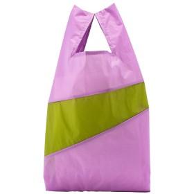 [スーザンベル] 折りたたみナイロンショッピングバッグ Lサイズ Untitled Dahlia & Apple [並行輸入品]