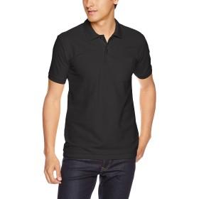 [プリントスター] 半袖 5.8オンス TC 鹿の子 ポロシャツ [ポケット付] 00100-VP メンズ ブラック S (日本サイズS相当)