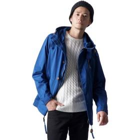 [ハイクオリティプロダクト] マウンテンパーカー メンズ ジャケット マンパー マウンパ ブルゾン ジャンバー アウター 無地 243001 (XL, ロイヤルブルー)