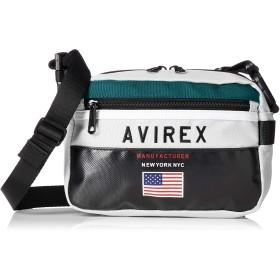 [アヴィレックス] レトロカラー 2wayミニショルダーバッグ 撥水 AX2005 シロ