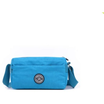 happy-JP 斜めがけバッグ ショルダー トラベル バッグ レディース ナイロン 軽量 2way 鞄 撥水加工 チャーム付 通勤 花見 旅行 全8色